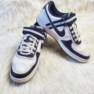 Nike Vandal Low White Dark Obsidian 11.5